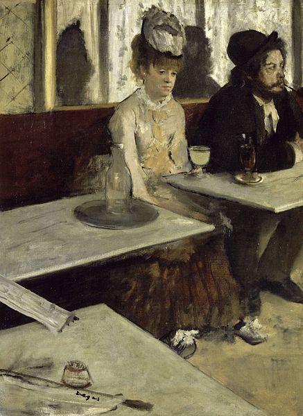 Degas, L'absinthe