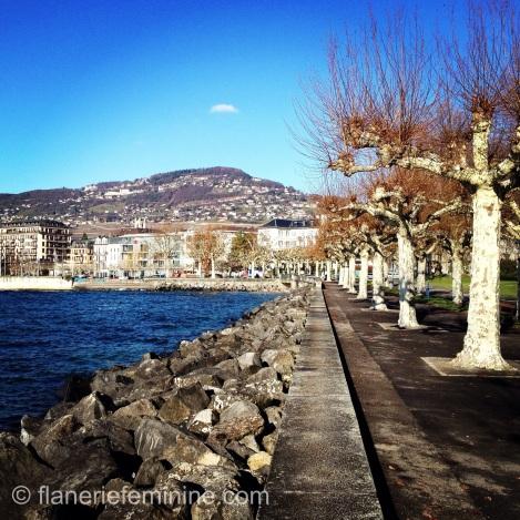 Lakeside promenade, Vevey