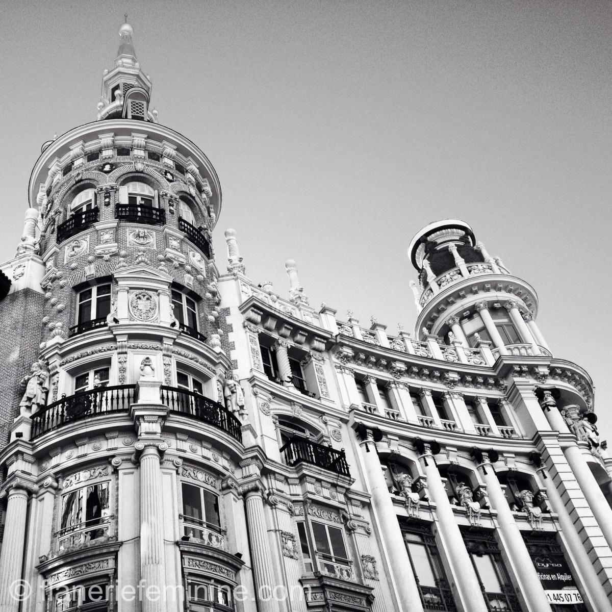 Madrid in black & white