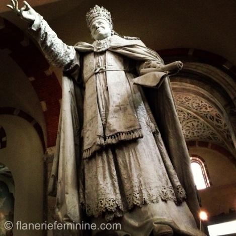 Statue of Pio IX